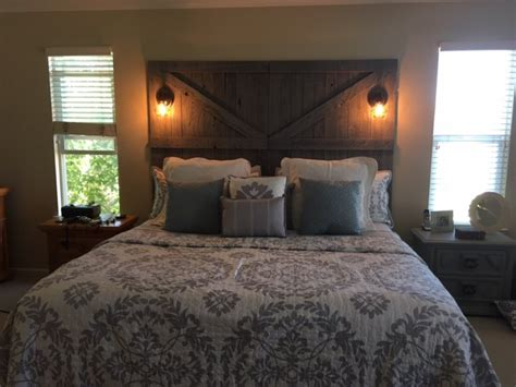 Barn Door Headboard For Sale by Custom Barn Door Headboard Roseville 95765 400