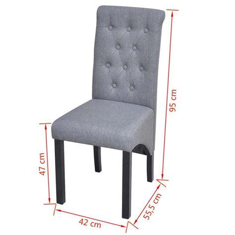rivestimenti sedie tessuto articoli per 6 sedie da pranzo in tessuto rivestimento