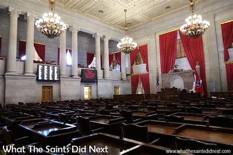 tennessee house of representatives tennessee state capitol what the saints did next