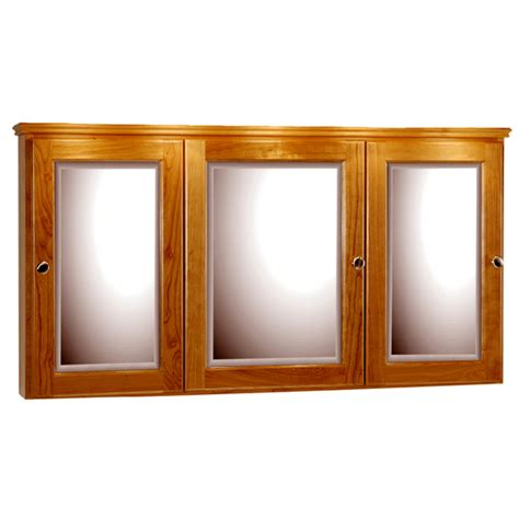 48 Inch Medicine Cabinet strasser woodenworks 48 inch rounded profile tri view
