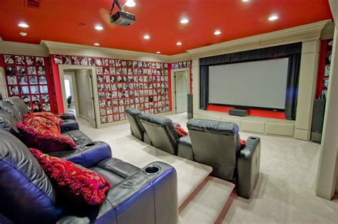 photography room ideas pop culture cinema traditional home theater little