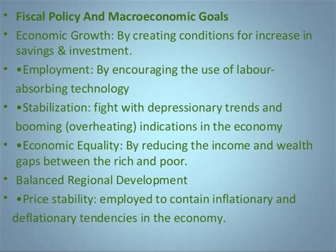 Policy And Mba by Monetary Fiscalpolicy