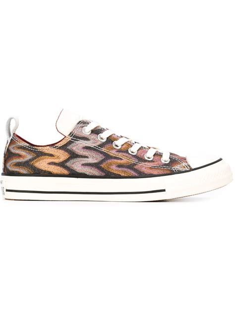 s low top sneakers converse low top sneakers in multicolor lyst