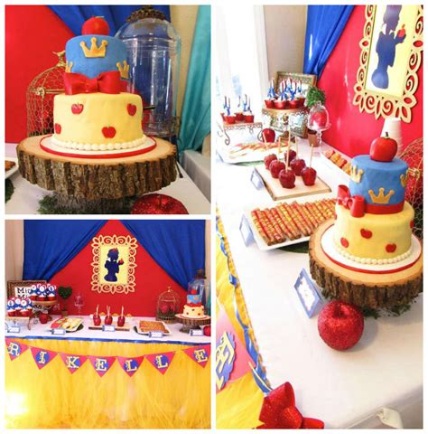 Snow Themed Decorations by Kara S Ideas Snow White Themed Birthday