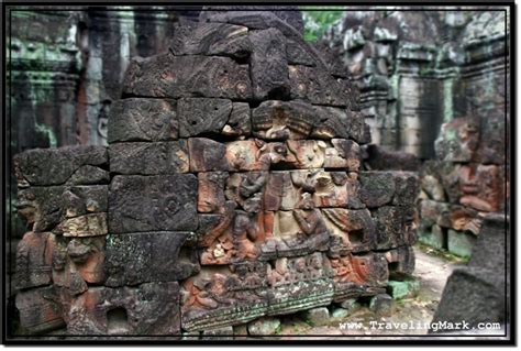 rescue ta photo restoration efforts trying to rescue ancient carvings at ta som temple angkor