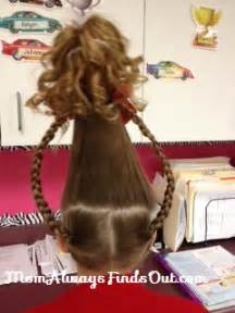 Cindy lou who hair do back png