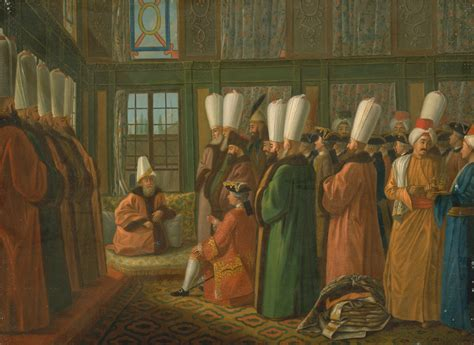 what did the viziers of the ottoman divan do file francis smith the grand vizier giving audience to