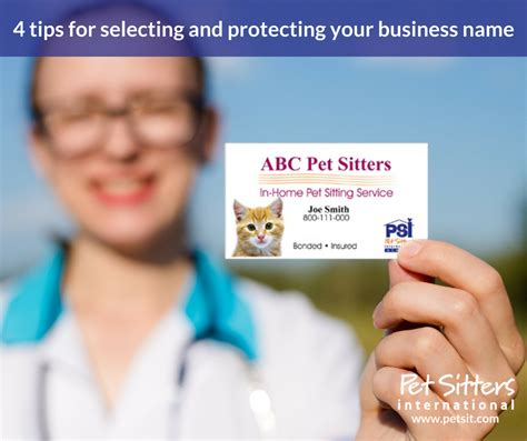 4 major tips and more on selecting your best hair choosing your pet sitting business name