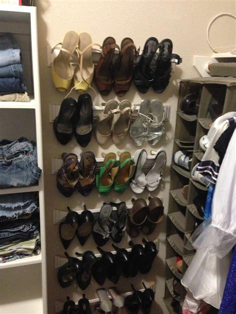 crown molding shoe rack chambre 224 coucher