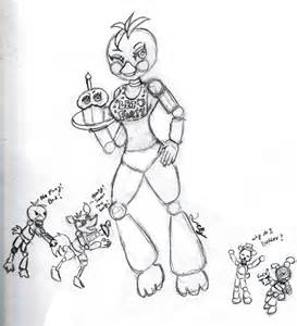 Fnaf toy chica doodle by luckygirl88 on deviantart