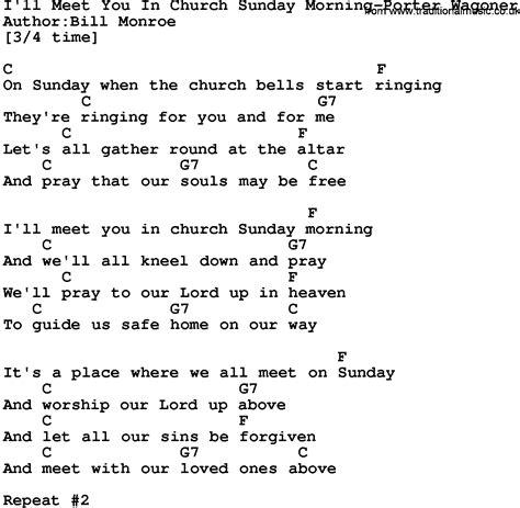 ukulele tutorial sunday morning country music i ll meet you in church sunday morning