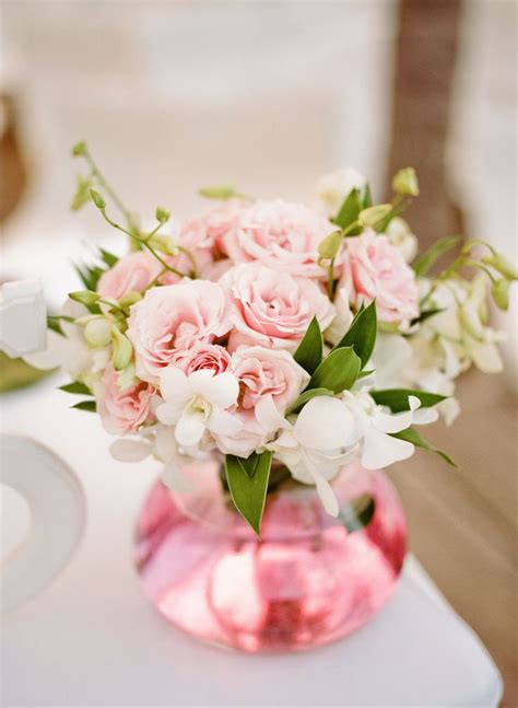 pink rose centerpiece decoraci 243 n pinterest