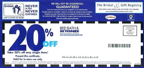 Bed Bath Beyond Printable Coupon Bed Bath And Beyond Coupons