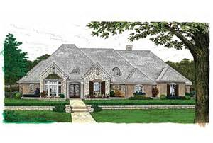 Open Floor Plan Ranch Style Homes one story house plans french country cottage house plans