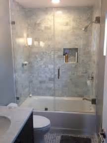 small bathrooms design ideas best 25 tub glass door ideas on shower tub