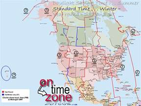 time zone america map ontimezone time zones for the usa and america