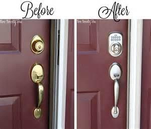 Front Door Lock And Handle Shut The Front Door