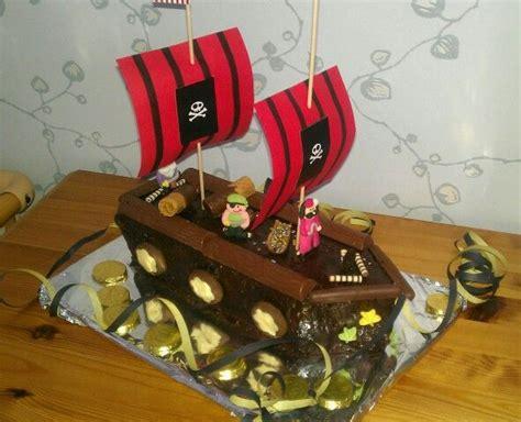 Piratenschiff Kuchen Kindergeburtstag Piraten Sause