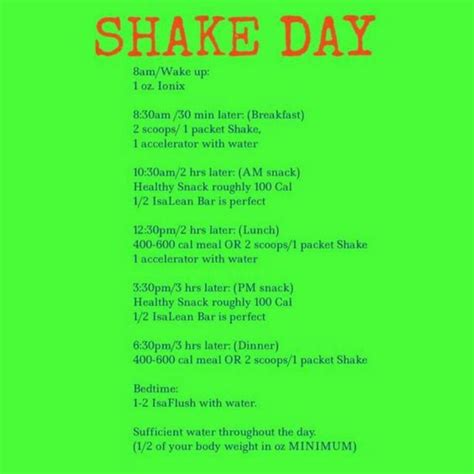 Shake Detox Plan by Isagenix Nutritional Cleansing System 30 Day Cleanse