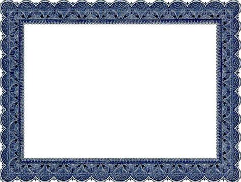 certificate border craft