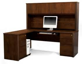Wood L Shaped Desk With Hutch by L Shaped Computer Desk With Hutch Black