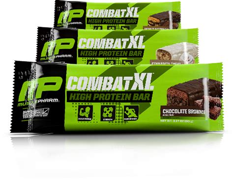 top protein bars building muscle musclepharm combat xl high protein bars at bodybuilding