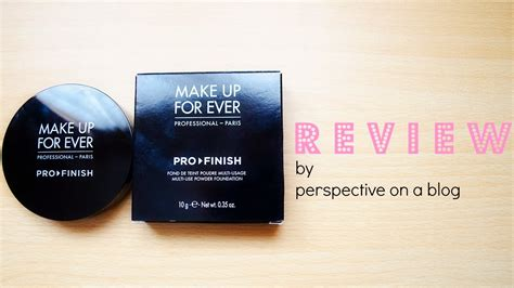 Bedak Tabur Makeup Forever perspective on a review make up for pro finish