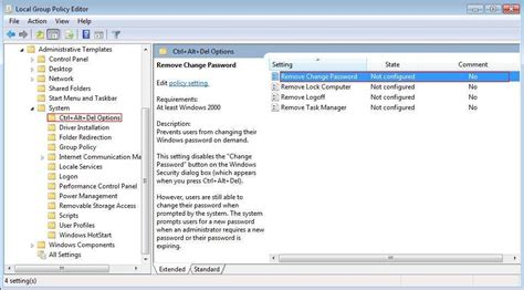 reset bitdefender uninstall password how to add or remove quot change a password quot from the ctrl alt