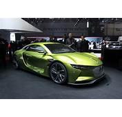 DS E Tense Concept  GT &233lectrique Vid&233o En Direct Du