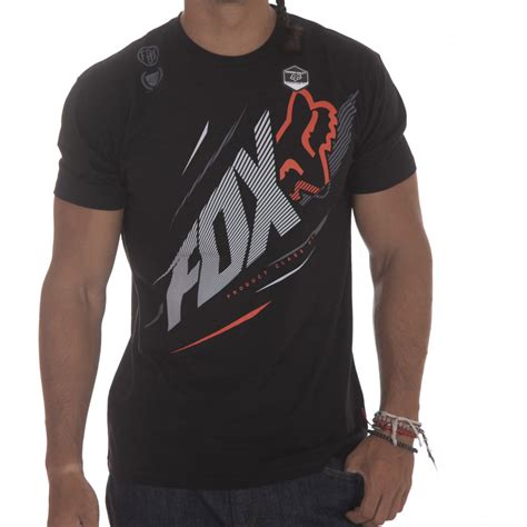 Tshirt Fox Racing Black Gildanshop fox racing t shirt shock point superior bk buy