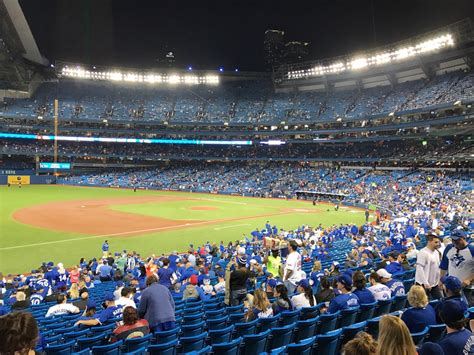 section 130 rogers centre rogers centre section 130a toronto blue jays