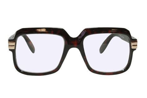 G&G 80s Retro Hip Hop Glasses Tortoise Frame Clear Lens