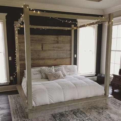 Wood Canopy Bed Frame King Wood Canopy Bed Frame Ideal King Size Bed Frame On White Bed Wood Canopy Bed Frame