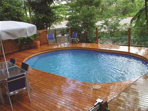 Above Ground Backyard Pools Build An Inexpensive Above Ground Swimming Pool Diy