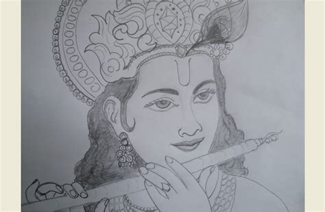 sketchbook easy sketch of krishna easy drawing krishna drawing