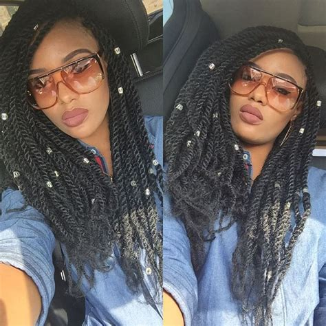 23  Kinky Twist Hairstyle Designs, Ideas   Design Trends
