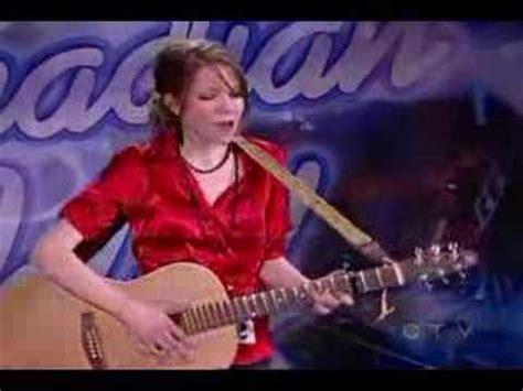 carly rae jepsen canadian idol carly rae jepsen audition youtube
