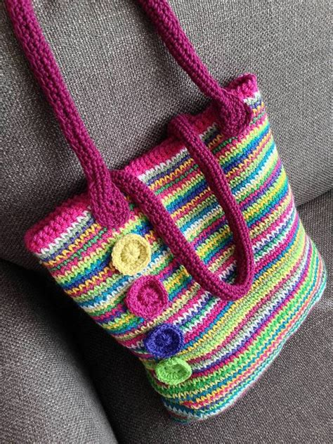 crochet tote bag pattern pinterest bags patterns and rainbow crochet on pinterest
