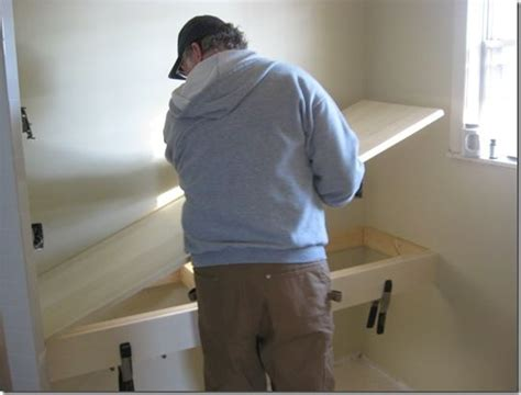 building floating bathroom vanity woodworking projects