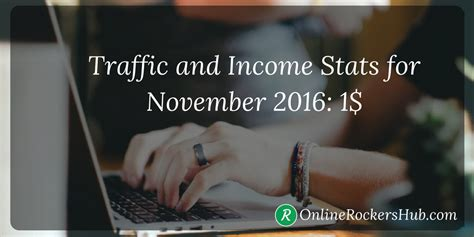 onlinerockershub traffic and income reports for november