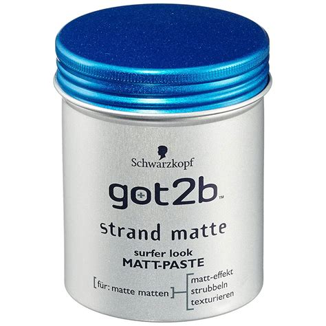 got2b strand matte s 225 p vuốt t 243 c got2b strand matte schwarzkopf 100ml của đức