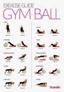 Balancing Ball Chair Exercise Guide Gym Ball Exercises For Women Useful