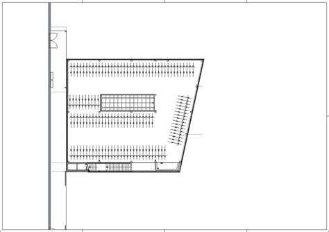 Plan View Gallery Of Bicycle Parking De Snelbinder Kraaijvanger
