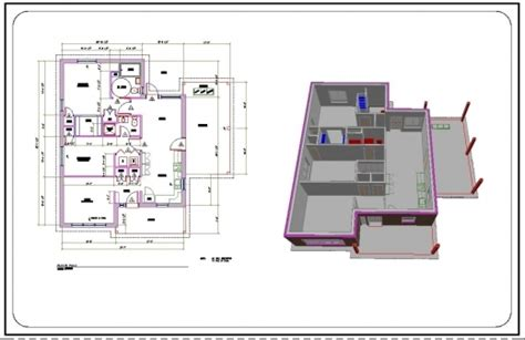 House Design Ideas Floor Plans 3d 2d Building Picture Autocad With Dimensions House Plan