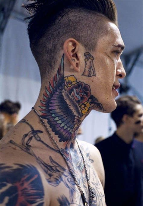 back of the neck tattoos for men 31 cool neck tattoos design for guys hit ideas
