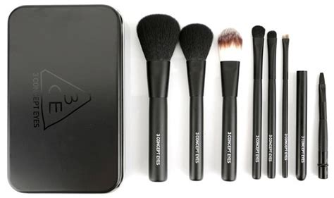 3ce 3 Concept Brush Set Alat Make Up 3ce 3 concept make up cosmetic mini brush kit