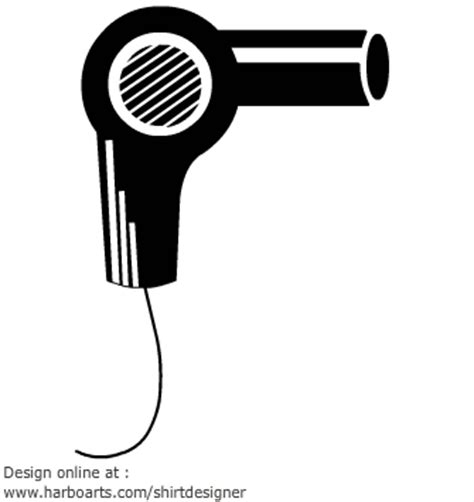 Clipart Of Hair Dryer hair dryer clip cliparts co