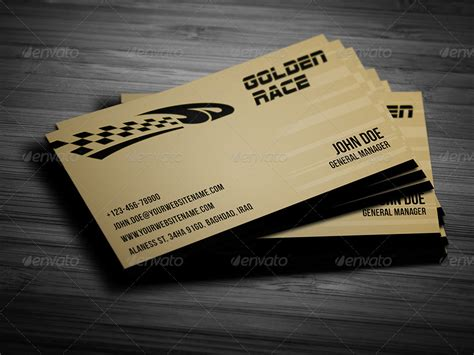 Race Race Card Template by Sport Race Business Card Template By Owpictures Graphicriver