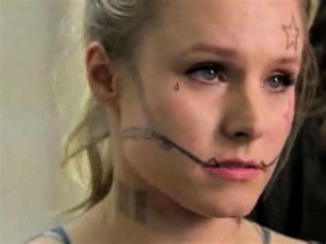 kristen bell tattoos real kristen bell tattoos sloth loving explains