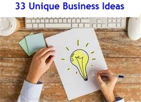 Unique Small Home Business Ideas Small Business Ideas Myinvestmentideas